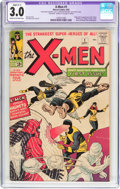 Silver Age (1956-1969):Superhero, X-Men #1 (Marvel, 1963) CGC Apparent GD/VG 3.0 Slight (C-1) Cream to off-white pages....