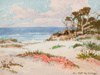 ALBERT THOMAS DEROME (American, 1885-1959) Monterey Sand Pine and Asilomar Dunes (two works)
