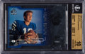 Football Cards:Singles (1970-Now), 1998 SP Authentic Peyton Manning Die Cuts #14 Beckett Pristine 10 -Only .5 Away From Black Label, Pop Two....