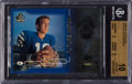 Football Cards:Singles (1970-Now), 1998 SP Authentic Peyton Manning #14 Beckett Pristine 10 - Only .5Away From Black Label. ...
