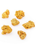 Minerals:Golds, Gold Nuggets. Australia. ... (Total: 6 Items)