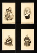 Prints:Contemporary, Group of Approximately 200 Nineteenth Century Historical Portraits.Circa 1880. Various sizes, the largest measuring 15 x 10...