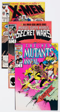 Modern Age (1980-Present):Miscellaneous, Marvel Modern Age Comics Group of 7 (Marvel, 1984-92) Condition: Average VF/NM.... (Total: 7 Comic Books)