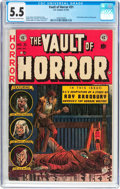 Golden Age (1938-1955):Horror, Vault of Horror #31 (EC, 1953) CGC FN- 5.5 Off-white to whitepages....
