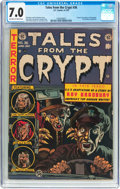 Golden Age (1938-1955):Horror, Tales From the Crypt #36 (EC, 1953) CGC FN/VF 7.0 Off-white towhite pages....