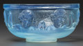 Art Glass:Other , A Sabino Opalescent Glass Enfantine Bowl, Paris, France,post 1935. Marks: Sabino, Paris. 6-1/2 inches diame...