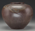 Asian:Japanese, A Japanese Bronze Jar with Fish Motif, Meiji Period. Marks:(character marks to underside). 9 inches high (22.9 cm). ...