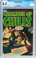 Golden Age (1938-1955):Horror, Chamber of Chills #5 (Harvey, 1952) CGC FN+ 6.5 Cream to off-whitepages....