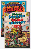 Golden Age (1938-1955):Miscellaneous, EC Picture Stories Group of 2 (EC, 1947) Condition: Average FN.... (Total: 2 Comic Books)