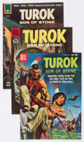 Silver Age (1956-1969):Adventure, Turok, Son of Stone Group of 15 (Dell/Gold Key, 1960-67) Condition: Average FN.... (Total: 15 Comic Books)