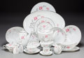 Ceramics & Porcelain, Continental:Other , A One Hundred and Thirty-Nine Piece Noritake RosemariePattern Porcelain Service, 20th century. Marks: Noritak...(Total: 140 Items)