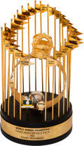 Baseball Collectibles:Others, 1989 Oakland Athletics World Series Championship Trophy Presented to Head Trainer....
