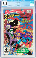 Modern Age (1980-Present):Superhero, DC Comics Presents #72 Superman, The Phantom Stranger, and TheJoker (DC, 1984) CGC NM/MT 9.8 White pages....