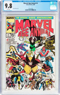 Modern Age (1980-Present):Superhero, Marvel Age Annual #4 (Marvel, 1988) CGC NM/MT 9.8 White pages....