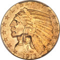 Indian Half Eagles, 1913 $5 MS65 PCGS....