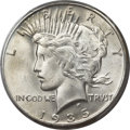 Peace Dollars, 1935-S $1 MS66+ PCGS....