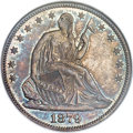 Seated Half Dollars, 1879 50C Closed Bud, WB-102, MS65 NGC....