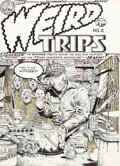 Original Comic Art:Covers, William Stout Weird Trips #2 Cover Original Art (KitchenSink Press, 1978)....