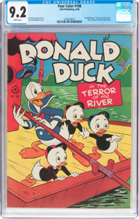 Four Color #108 Donald Duck (Dell, 1946) CGC NM- 9.2 White pages