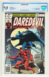 Daredevil #158 (Marvel, 1979) CBCS NM/MT 9.8 White pages