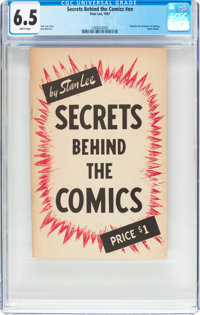 Secrets Behind The Comics #nn (Famous Enterprises Inc., 1947) CGC FN+ 6.5 White pages
