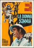 "Movie Posters:Foreign, The Ape Woman (Interfilm, 1964). Italian 4 - Fogli (55"" X 78""). Foreign.. ..."