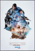 "Movie Posters:Science Fiction, Rogue One: A Star Wars Story (Walt Disney Studios, 2016). AMC IMAXExclusive Poster (13"" X 19"") Darth Vader Style. Science F..."