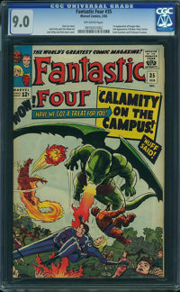 Fantastic Four #35 (Marvel, 1965) CGC VF/NM 9.0 Off-white pages