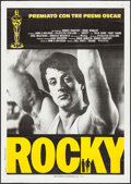 "Movie Posters:Academy Award Winners, Rocky (United Artists, 1977). Italian 2 - Fogli (39.25"" X 55"").Academy Award Winners.. ..."