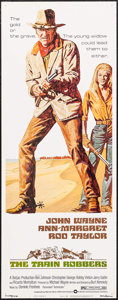 """Movie Posters:Western, The Train Robbers (Warner Brothers, 1973). Insert (14"""" X 36""""). Western.. ..."""