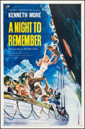 "Movie Posters:Drama, A Night to Remember (Rank, 1959). One Sheet (27"" X 41""). Drama....."