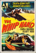 "Movie Posters:Action, The Whip Hand (RKO, 1951). One Sheet (27"" X 41""). Action.. ..."