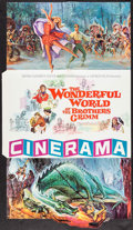 "Movie Posters:Fantasy, The Wonderful World of the Brothers Grimm (MGM, 1962). CineramaGatefold Promo (Folded: 9"" X 12"", Unfolded: 17.5"" X 30.5""). ..."