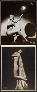 """Movie Posters:Exploitation, Burlesque Pinup Lot by Maurice Seymour (1930s). Pinup Photos (2)(11"""" X 14""""). Exploitation.. ... (Total: 2 Items)"""