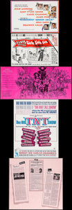 "Movie Posters:Academy Award Winners, West Side Story & Others Lot (United Artists, 1961).Advertising Promos (5) (approx. 9"" X 12"" Folded). Academy AwardWinners... (Total: 5 Items)"