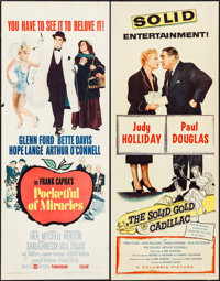 "Pocketful of Miracles & Others Lot (United Artists, 1962). Inserts (4) (14"" X 36""). Comedy. ... (Total: 4..."