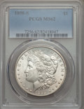 Morgan Dollars: , 1898-S $1 MS62 PCGS. PCGS Population: (676/3019). NGC Census: (475/1382). Mintage 4,102,000. ...