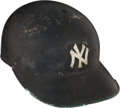 Baseball Collectibles:Others, 1967-68 Mickey Mantle Game Worn New York Yankees Batting Helmet.. ...