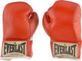 Boxing Collectibles:Memorabilia, 1980 Muhammad Ali Fight Worn Gloves Photo Matched by MeiGray to Larry Holmes Bout on Oct. 2 Originally Sourced from Nevada Ath...