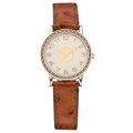 Estate Jewelry:Watches, Hermès Gold, Stainless Steel Clipper Watch. . ...