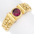Estate Jewelry:Rings, Ruby, Diamond, Gold Ring. . ...