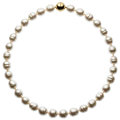 Estate Jewelry:Necklaces, Freshwater Cultured Pearl, Gold Necklace. . ...