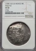 Mexico, Mexico: Philip III Cob 8 Reales ND (1618-1621) Mo-D VF30 NGC,...