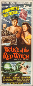 "Movie Posters:Adventure, Wake of the Red Witch (Republic, 1949). Insert (14"" X 36"").Adventure.. ..."