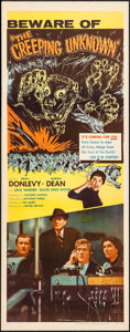 "Movie Posters:Science Fiction, The Creeping Unknown (United Artists, 1956). Insert (14"" X 36"").Science Fiction.. ..."