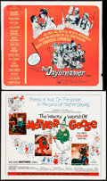 """Movie Posters:Animation, The Wacky World of Mother Goose & Other Lot (Embassy, 1967). Half Sheet (22"""" X 28"""") & Trimmed Half Sheet (22"""" X 27""""). Animat... (Total: 2 Items)"""
