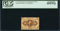 Fractional Currency:First Issue, Fr. 1229 5¢ First Issue PCGS Extremely Fine 40PPQ.. ...