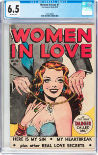 Women in Love #1 (Fox Features Syndicate, 1949) CGC FN+ 6.5 Off-white pages