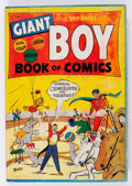 Golden Age (1938-1955):Crime, Giant Boy Book of Comics #1 (Newsbook, 1945) Condition: VG....