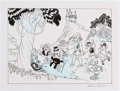 Memorabilia:Comic-Related, Carl Barks Before He Became the Duck Man Set of Two Limited Edition Prints AP #8/15 (International Museum of Carto...